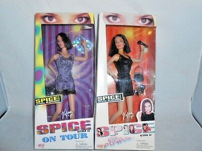 1998 Spice Girls Posh Doll Lot On Tour and Girl Power NRFB Victoria Beckham