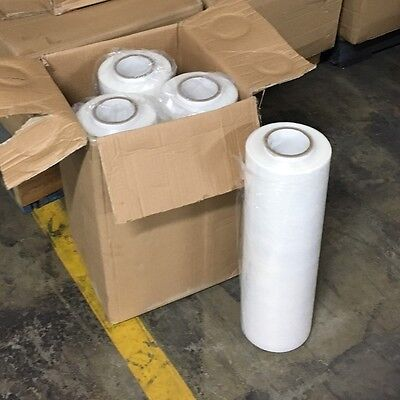 CHEAP Hand Stretch Film PE Pallet Shrink Wrap (500mm x 500m x 25um) 16 Rolls