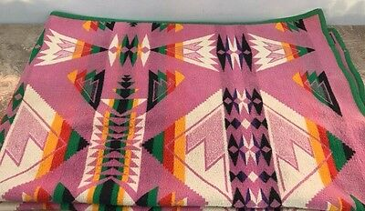 Antique 1920's Vintage Pendleton Indian Trade Blanket Oregon City Woolen Mills