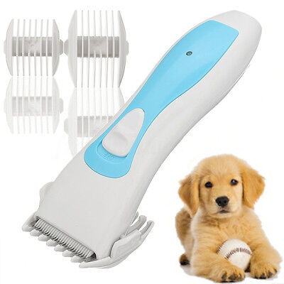 Electric Pet Dog Cat Trimmer Hair Cutting Shaver Razor Grooming Clipper Shaver