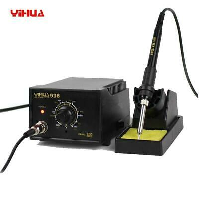110V 936 ESD Electric Soldering Station SMD DesolderingSolder Iron Handle Set