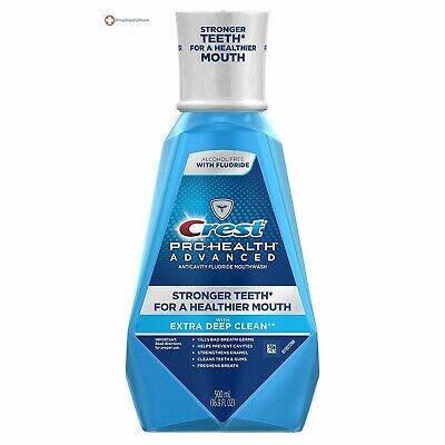 Crest Pro-Health Advanced Mouthwash with Extra Deep Clean Fresh Mint 16.9 Fl Oz
