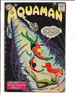 Aquaman #11 First Appearance of Mera DC Comics 1963 Silver Age KEY