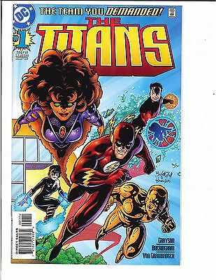 The Titans #1 1st Appearance of Damien Darhk 1999 DC Comics CW Arrow