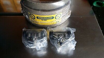 Ford Falcon Xk Xl Xm Xp Rear Brake Shoe / Wheel Cylinder Package ..brand New ..