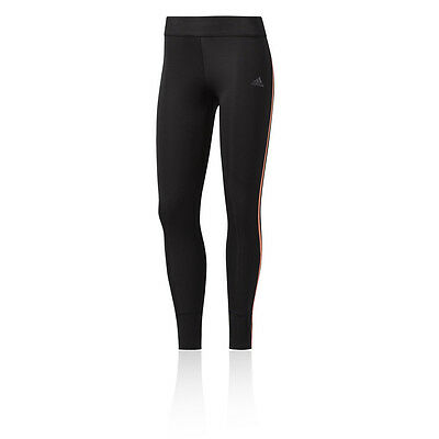 Adidas Response Womens Black Climacool Sports Long Tights Bottoms Pants