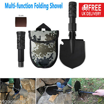 Multi-function Military Folding Camping Shovel Outdoor Emergency Survival Spade