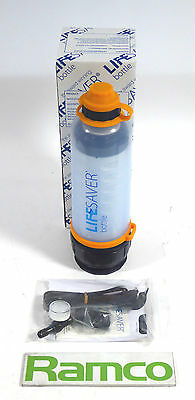 Lifesaver Ultra Filtration Bottle 4000UF - With Brand New Filtration Cartridge