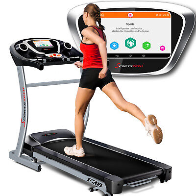 Sportstech F38 professionnel tapis roulant 9''Android 6.5 PS WiFi 20 kmh pliable