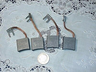 Motor Brush Set Four (4) Pieces, RE54 / RE54Z732 NEW SHELF SPARES!