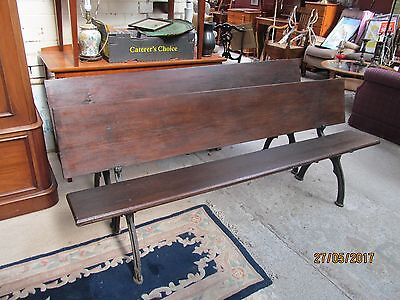 antique pine church benches
