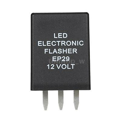 12V 4 Pins EP29 Electronic LED Flasher Relay For Turn Signal Lamps Hyper Flash
