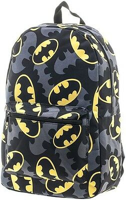 Batman Logo Quick Turn Back Pack  - BRAND NEW