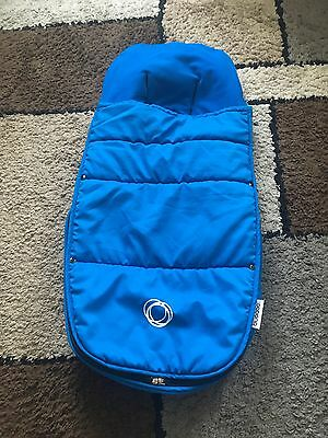 Bugaboo Universal Footmuff /cosy Toes In Baby Blue Great  Condition.
