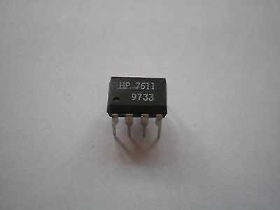 HCPL7611 Logic Output Photocoupler 8 pin Dip marked HP7611    Z1152