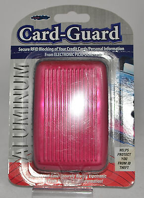 Card Guard Aluminium, Scan Proof Case Security Helps Protect you from ID Thief