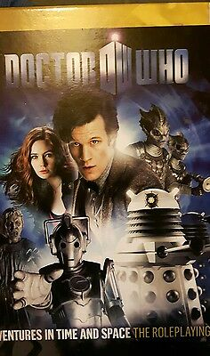 DOCTOR WHO ROLEPLAYING GAME - 11th Doctor Core Set plus extras