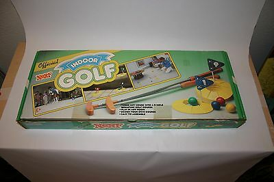 NEW OLD STOCK - Nerf Indoor Golf Game from Parker Brothers 1987