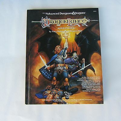 Official Advanced Dungeons & Dragons Dragon Lance Adventures (HC) 1987