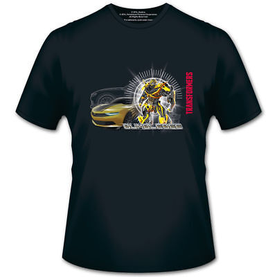 Transformers 4 T-Shirt Bumblebee with Car