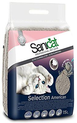 TOLSA 803629 Sanicat Cat Litter Selection America, 15 L