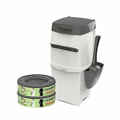 Litterlocker II Cat Round Bin with 2 Refills