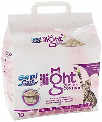 Sepicat Clumping Ultra Light Odour Control Litter