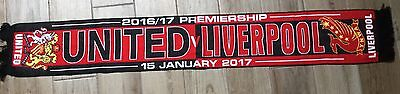 Manchester United V Liverpool Match Scarf