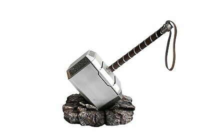 Marvel's Avengers - Mjölnir, Thor Hammer And Base (1:1 Full Size Resin Replica)
