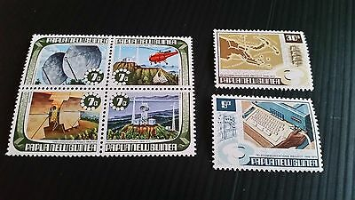 Papua New Guinea  1973 Sg 231-236 Completion Of Telecommunications Project .mnh