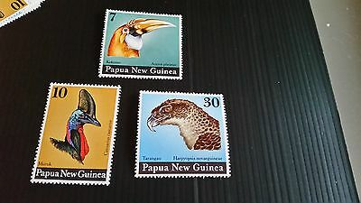 Papua New Guinea  1974 Sg 270-272 Birds Heads Mnh