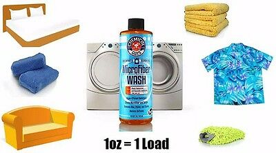 Chemical Guys  Microfiber Wash Cleaning Detergent Concentrate