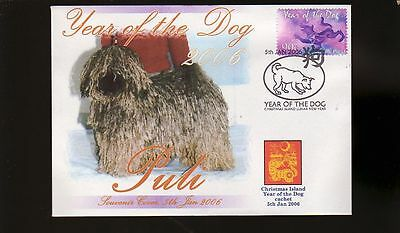 Hungarian Puli 2006 C/i Year Of The Dog Stamp Cover 5