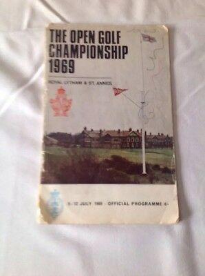 The Open Championship Royal Lytham & St Annes 1969 official programme.