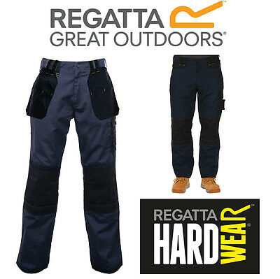 Regatta Mens Hardwear Work Trousers Hardwear Holster Workwear Cargo Kneepad
