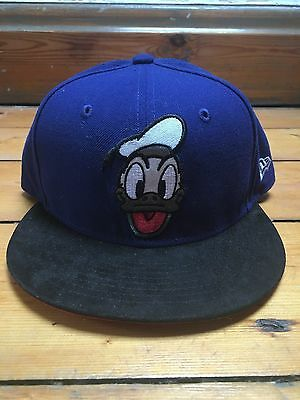 New Era Disney Donald Duck Blue Snapback Hat