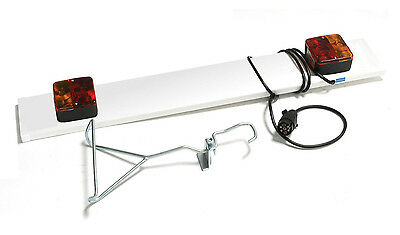 MaxxRaxx Trailer Lighting Board & Hanger | Bike Cycle Carrier Rack