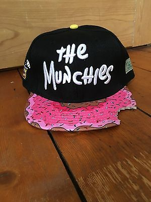 Cayler And Sons 'The Munchies' Donut Peak Snapback Hat