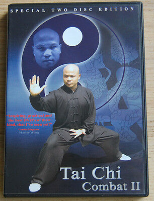 TAI CHI COMBAT II  (Form and Applications)  2 DVDs  by Master Michael Wong
