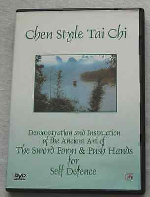 Chen Style Tai Chi Sword Form and Push Hands DVD    by  Master Liming Yue
