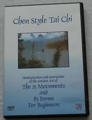 Chen Style Tai Chi 83 Form DVD For Beginners   by Master Liming Yue
