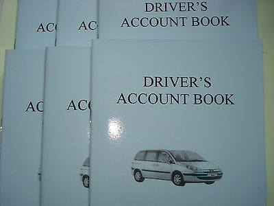 TAXI DRIVER ACCOUNT BOOK  A5 SMALL CASH & ACCOUNT TAKINGS for the UK