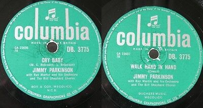 Jimmy Parkinson: CRY BABY / WALK HAND IN HAND