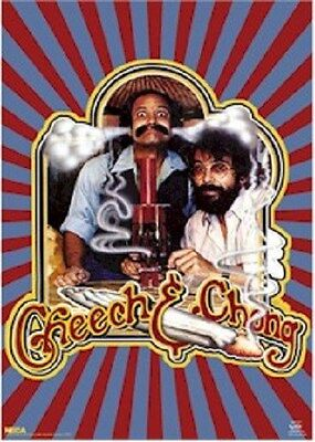 CHEECH & CHONG ~ SMOKING 22x34 MOVIE POSTER Marijuana Bong NEW/ROLLED!