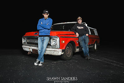 OKC Farmtruck and AZN Poster 24 x 26 - Street Outlaws