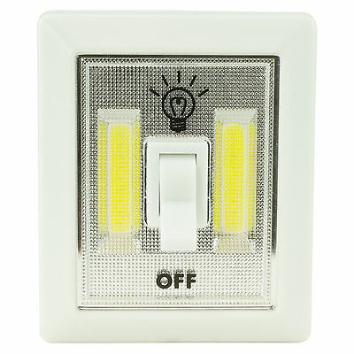 Micro LED Light Mini Switch Cordless Magnetic Emergency Camp Flashlight Torch