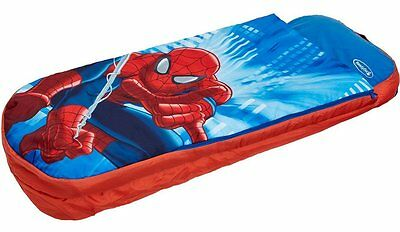 Marvel Spider-Man Junior Ready Bed Kids Airbed and Sleeping Bag in One