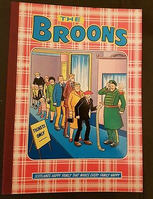 The Broons Book1981 Hardback Edition D C Thomson