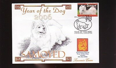 Samoyed Year Of The Dog Stamp Souvenir Cover 3
