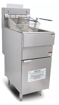 Commercial NATURAL GAS Fryer Infernus Chip Fryer NEW!